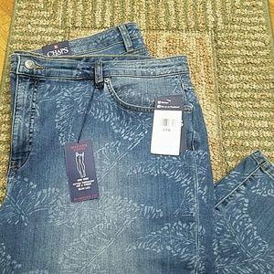 Chaps Capri jeans NWT